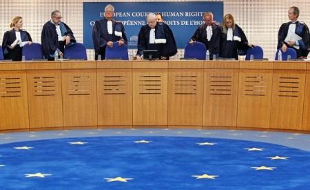 Судьи в зале заседания ЕСПЧ