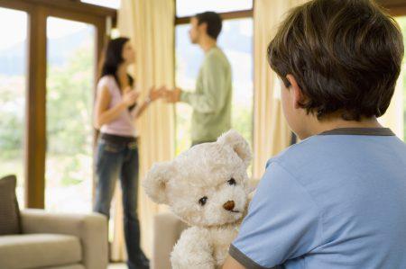 Развод через суд с детьми