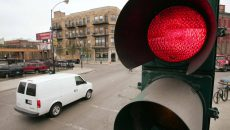 Движение на запрещающий сигнал светофора