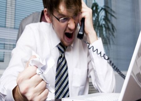 Высказывание недовольства по телефону