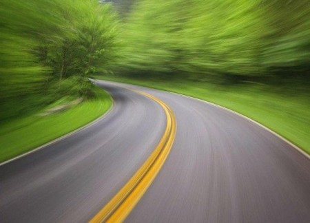 Двойная сплошная линия разметки дороги