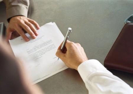Подписание договора о материальной ответственности