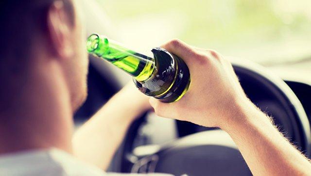 Употребление алкоголя за рулем